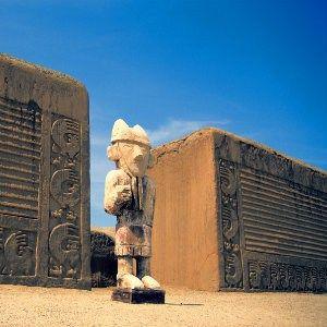 Statue peruvienne