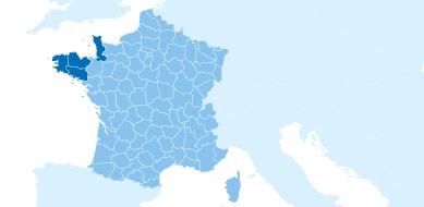 Côtes bretones et normandes