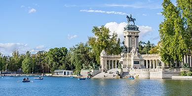 Parc à Madrid