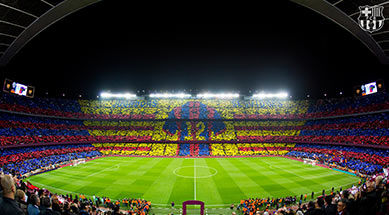 Stade de foot Barcelone
