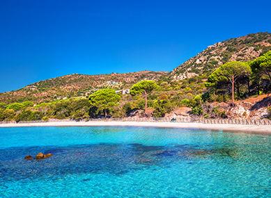 Côte méditerranéenne, Corse