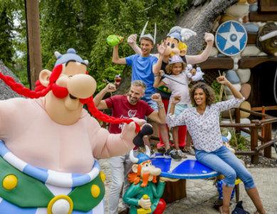 Personnages au Parc Asterix