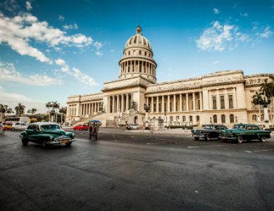 Le Capitole de la Havane, capitale de Cuba
