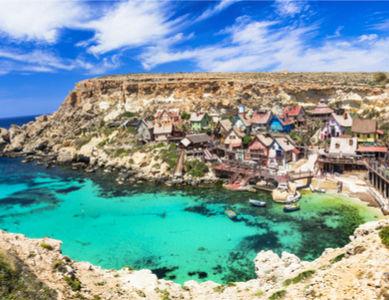 Malte, village Popeye