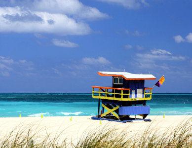 Plage de Miami, Floride