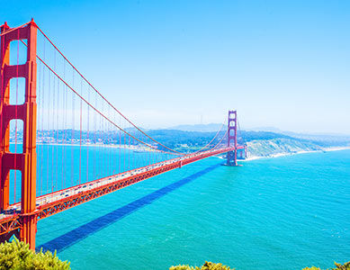 Pont de San Francisco, Californie