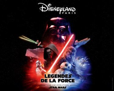Disney Paris la légende de la force
