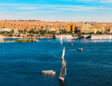 Bord du Nil Egypte