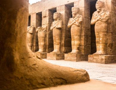 Temple de Karnak Louxor, Egypte