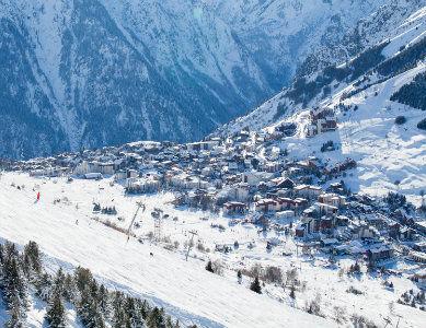 Station les 2 Alpes, Isère France
