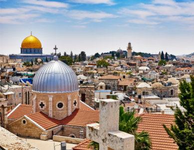 Ville de Jerusalem, Israel