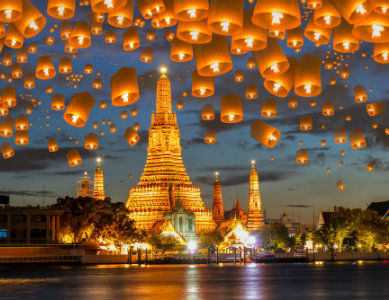 Temple Wat Arun Bangkok, Thailande