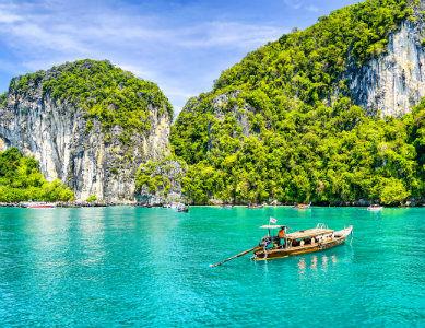 Côte de Phuket, Thailande