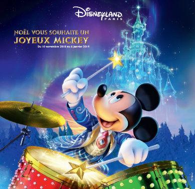 Feter Noel à Disneyland Paris
