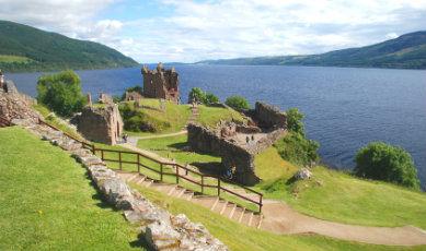 Loch Ness Ecosse