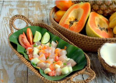 Gastronomie, Polynesienne