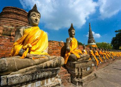 Temple Ayuthaya, Thaïlande