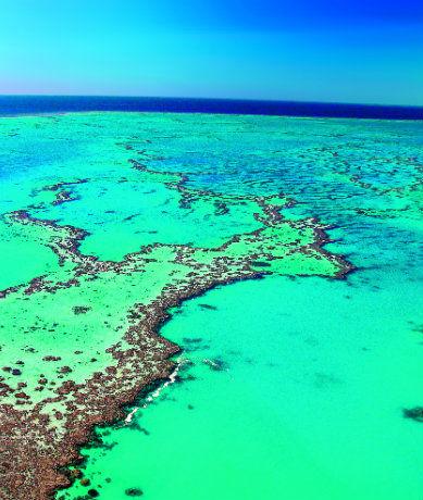 Barrière de corail en Australie