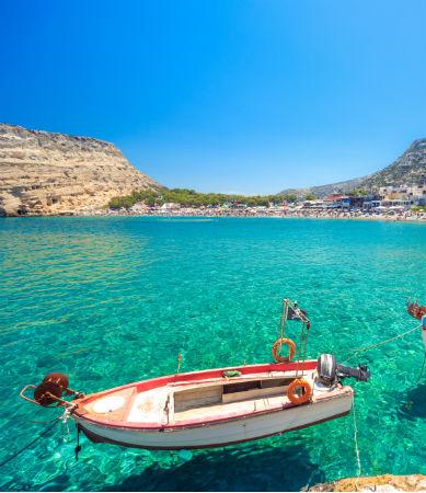Bateau Crète