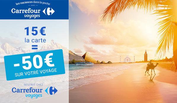 Offres de vacances chez Carrefour Voyages