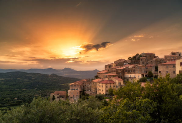 Corse village de Belgodere