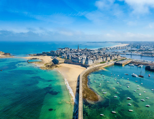 Baie de Saint Malo, Bretagne