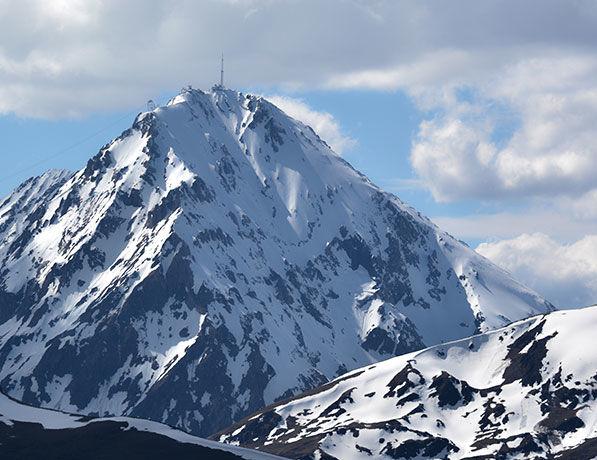 Mont enneigé Pyrénées