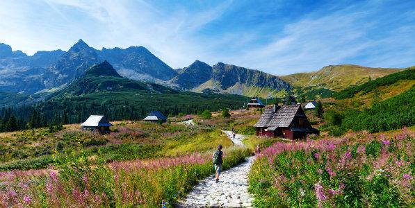Montagnes des Tatras en Pologne