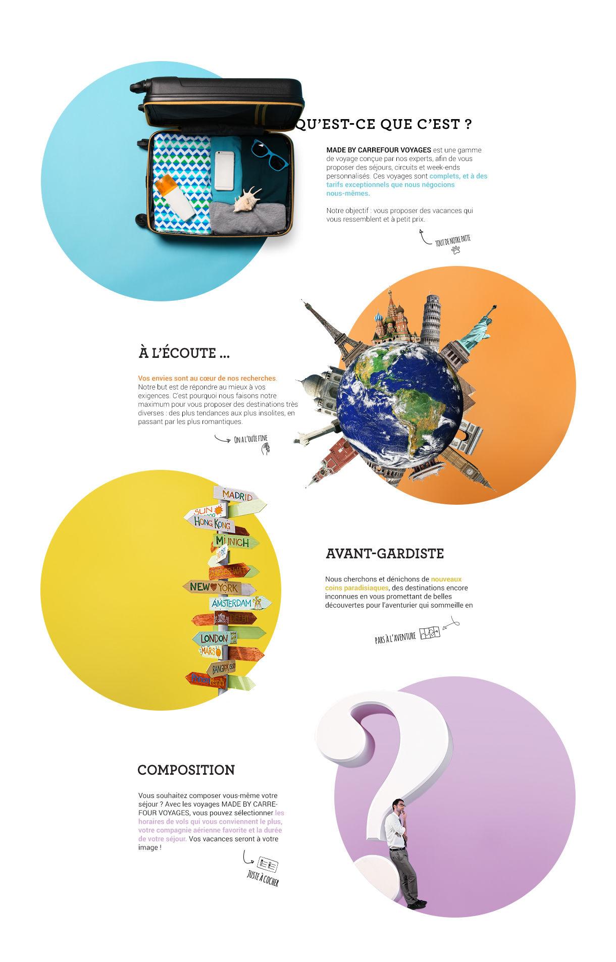 Qu'est-ce que les voyages Made by Carrefour Voyages ?