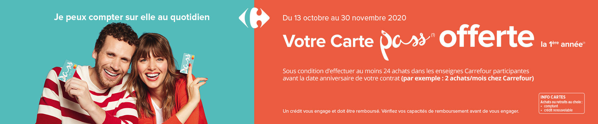 Carte Pass offerte