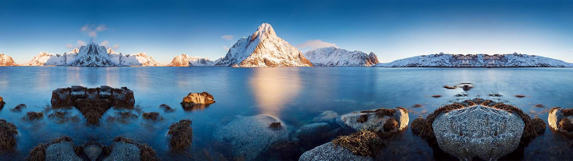 Iles Lofoten en Norvège