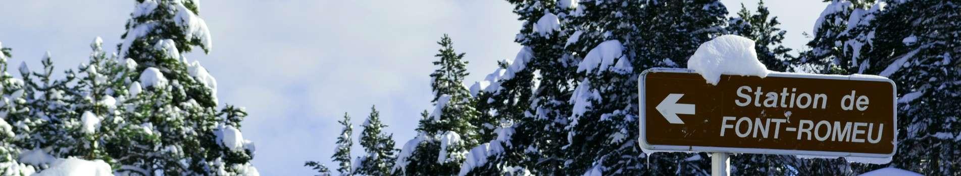 Station ski Font Romeu Pyrenees