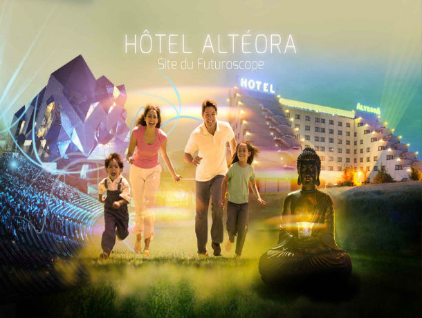Futuroscope - Hôtel Altéora 3* - Promo séjour -30% selon les dates d'arrivées