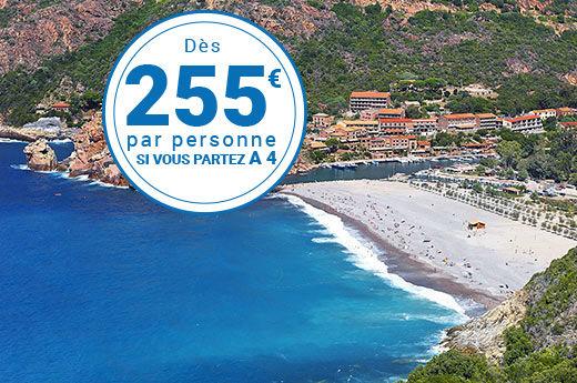 Corse - Camping Sagone 4* avec traversées maritimes - 1