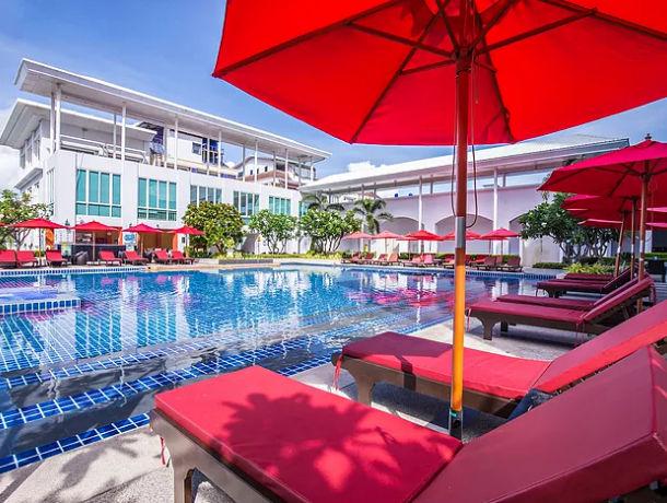Hôtel Dvaree Jomtien Beach 4*